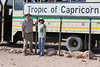Drive North Towards Kuiseb Canyon - Cliff and Veena at Tropic of Capricorn