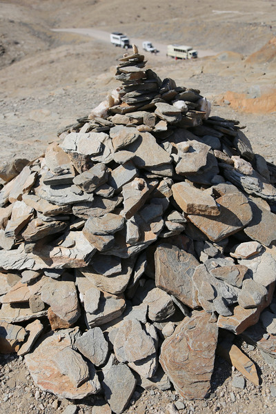 Kuiseb Canyon - Rock Cairn