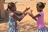 Himba Village Visit - Kids Playing Paddycake