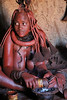 Himba Village Visit - Woman in Hut