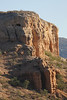 Damaraland - Vingerklip and Other Buttes - Cliff Face