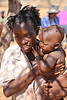 Himba Village Visit - Woman and Child