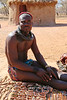 Himba Village Visit - Young Man Selling Souveneers