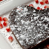 Valentine chocolate heart-shaped cake