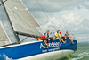 """Aberdeen Asset Management"" GBR 5955T racing at Cowes Week 2014"