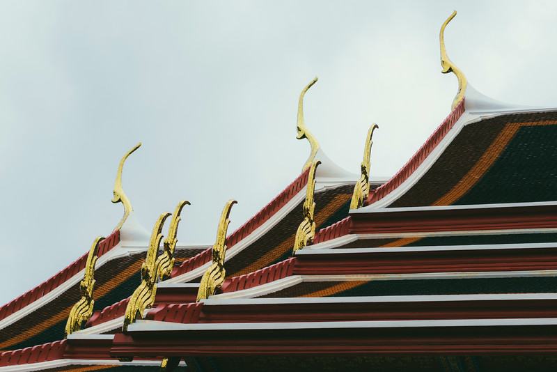 A detail at Wat Pho