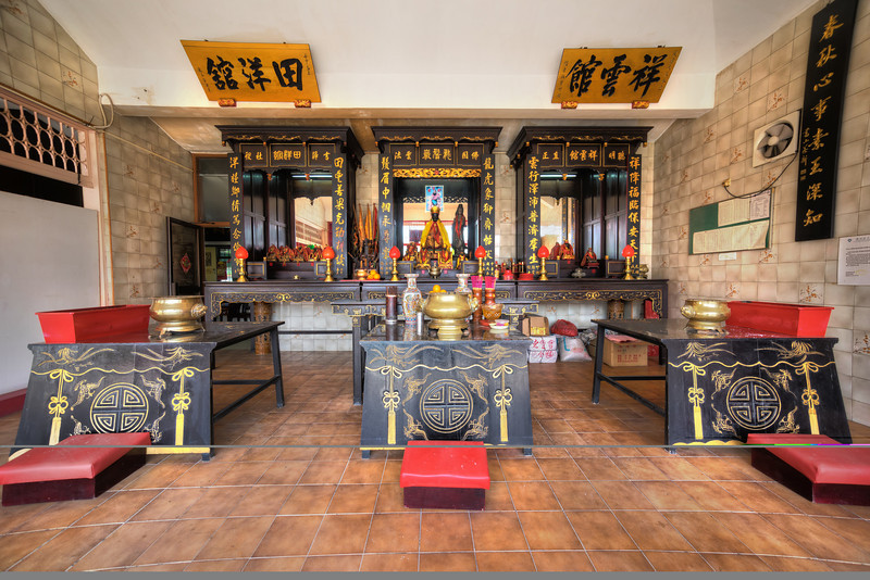Altar at Nanyang Neo Clan Association