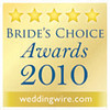 Thanks to our couples for the 2010 Brides Choice Award