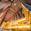 The Awesome Reclining Buddha at Wat Pho, Bangkok, Thailand