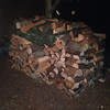 wood stacked #2 aka the fancy bought firewood