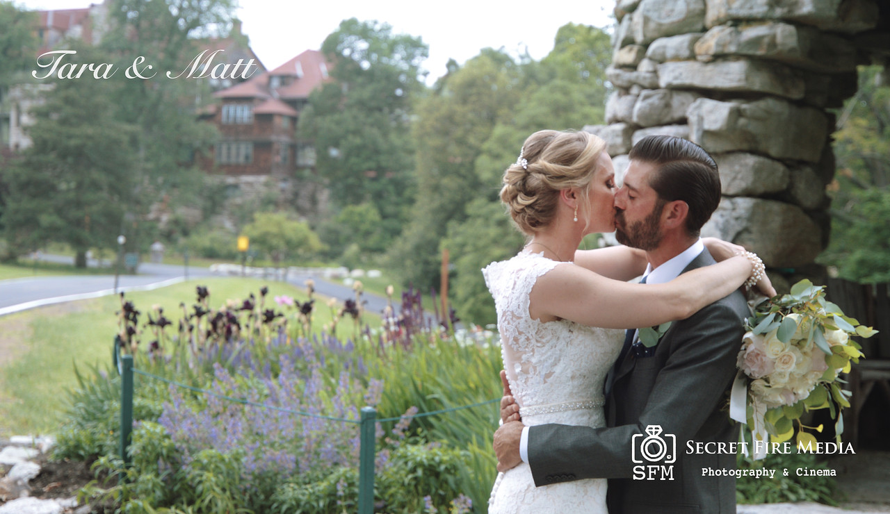 Tara and Matts weddign video at Mohonk Mountain House in New Paltz New York