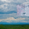 Following a Path from the Past - View of Delta River Valley and Alaskan Range from the historical Richardson Highway or Alaska Highway 2 between Big Delta and Delta River Junction (USA Alaska Big Delta; Obst FAV Photos 2011 HumanScapes Inspirational Nikon D300 Image 0459-C)
