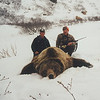 Guide Don Anderson on the left with hunter Tom Fowler of California and his Alaska Brown Bear. If my recall is accurate, this bear measured 10 foot plus and the bear was later completed in a life-size mount provided by Anderson Taxidermy. Hunts are offered exclusively through Anderson Taxidermy & Guide Service, Inc. Contact Don Anderson to inquire about booking your hunt for the new year ahead. www.thehuntpro.com
