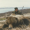 "Al Cito of New York is pictured here with his Alaska Brown Bear and Bear Lake in the background. This was a Spring Season hunt and Al was guided by Don Anderson. Hunts are offered exclusively through Anderson Taxidermy & Guide Service, Inc. Contact Don Anderson to inquire about booking your hunt for the new year ahead.  <a href=""http://www.thehuntpro.com"">http://www.thehuntpro.com</a>"
