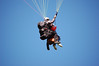 Paragliders in Flight