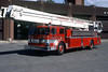 CHAMPAIGN TRUCK 111  1966 FWD - PITMAN  85'  OFFICERS SIDE   RON HEAL PHOTO