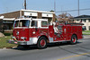 KANKAKEE ENGINE 5  SEAGRAVE  WHITE - RED