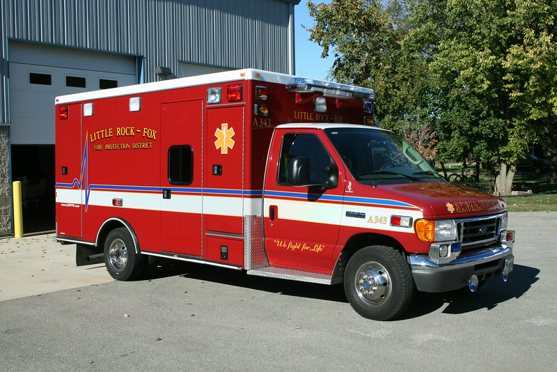 KITTLE ROCK FOX FPD  AMBULANCE 343