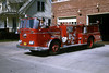 GALESBURG ENGINE 3  1963 SEAGRAVE OPEN CAB   RON HEAL PHOTO
