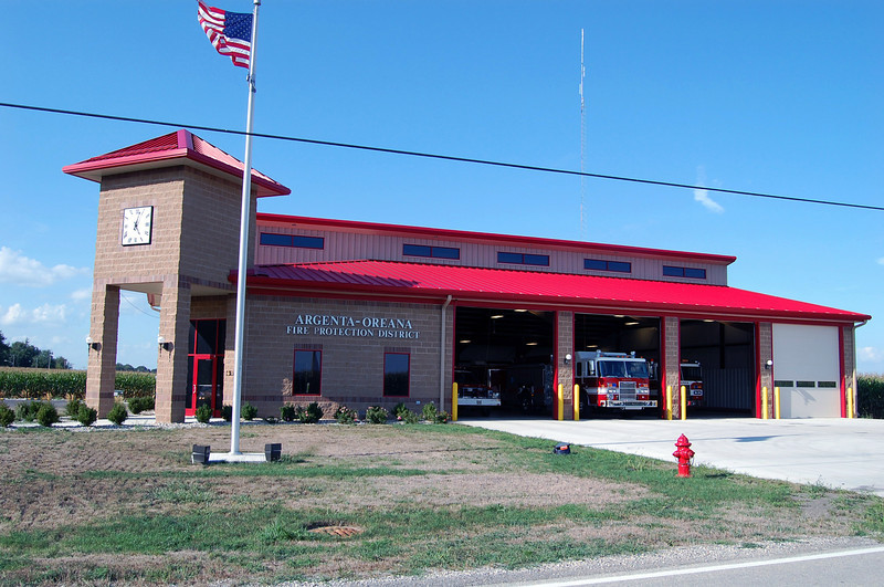 ARGENTA - OREANA FPD  STATION 2011  BILL FRICKER PHOTO
