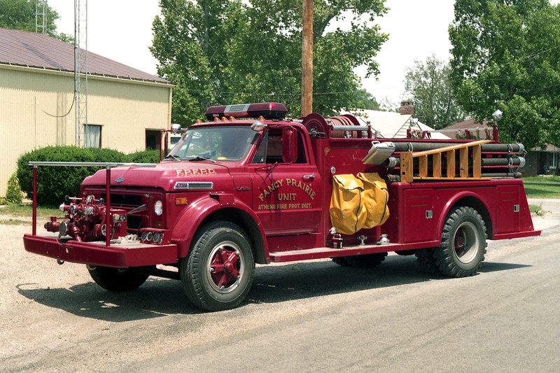 FANCY PRARIE   ENGINE 1 1971 CHEVY C60 - TOWERS  750-750
