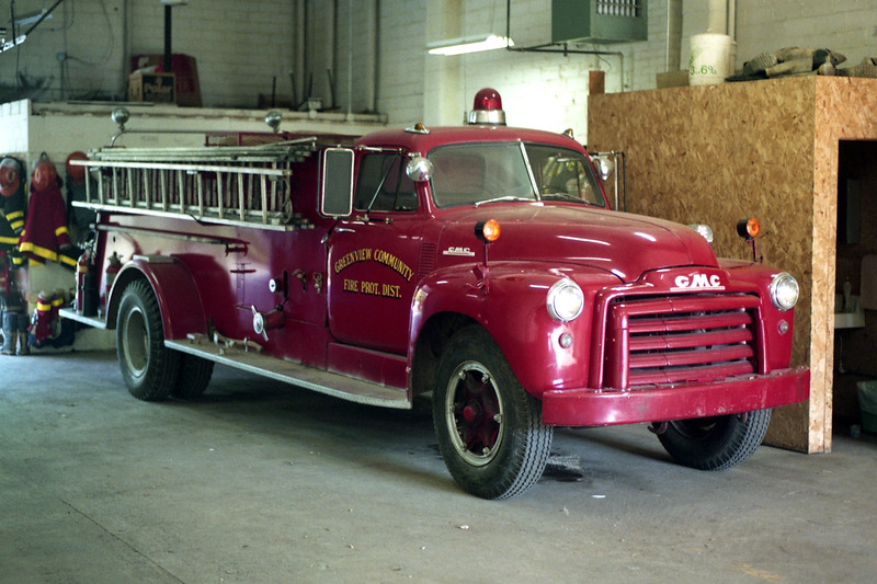 GREENVIEW  ENGINE 4  1956 GMC - CENTRAL ST LOUIS  500-500