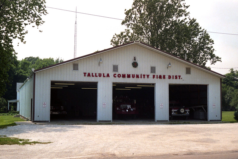 TALLULA  COMMUNITY FPD STATION