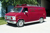NEW BOSTON  RESCUE 1  1982 CHEVY VAN