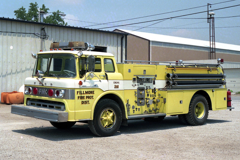 FILLMORE   ENGINE 316  1959 FORD - HOWE  750-500   X-STREAMWOOD FD