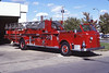 JACKSONVILLE  LADDER   1949 ALFCO 700  100'   RON HEAL PHOTO