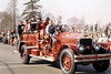 NORMAL   ISU ROOTERS  1927 ALFCO PARADE TRUCK  RON HEAL PHOTO