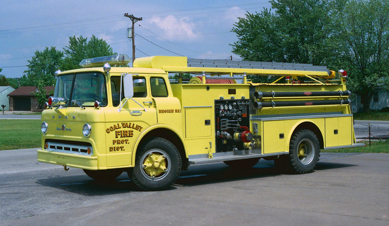 COAL VALLEY  ENGINE 21  FORD C - ALEXIS