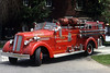 MOLINE SECOND ALARMERS  1947 SEAGRAVE  750-   RON HEAL PHOTO