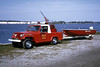 MOLINE BRUSH 28 AND BOAT  1970 JEEP  RON HEAL PHOTO