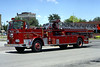MOLINE  TRUCK 1  1967 SEAGRAVE   100'  RON HEAL PHOTO