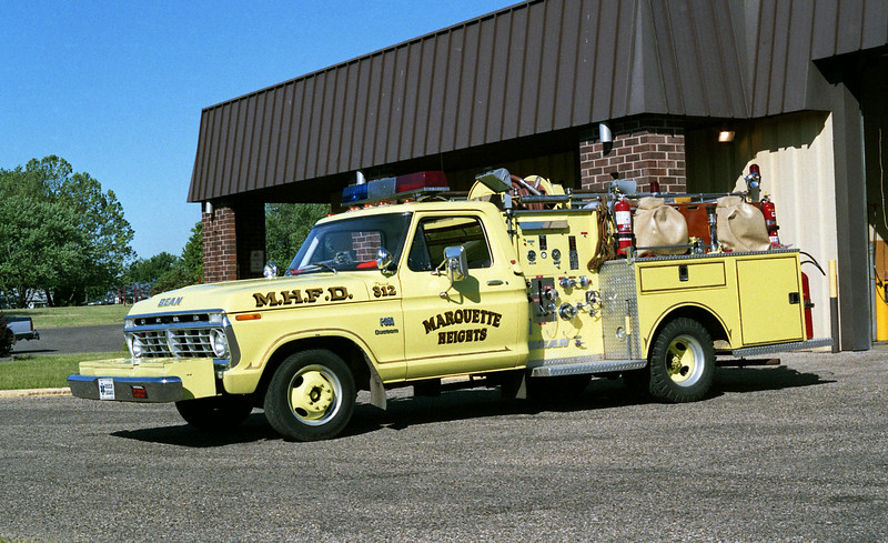 MARQUETTE HEIGHTS ATTACK 312   FORD F350 - BEAN