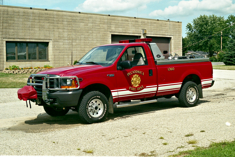 PECATONICA BRUSH 1360  FORD F-350 - US TANKER