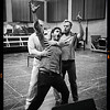 Elliot Madore, Taras Shtonda and Lloyd Wood - Don Giovanni Stage and Studio Rehearsals - Glyndebourne 2014 (black and white)