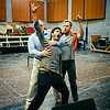 Elliot Madore, Taras Shtonda and Lloyd Wood - Don Giovanni Stage and Studio Rehearsals - Glyndebourne 2014