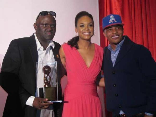 Greg Street, Demetria McKinney & T.I at the 'Rainbow PUSH Conference' on October 12, 2012