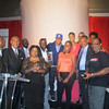 Greg Street, Demetria McKinney, T.I & Rev. Jesse Jackson at the 'Rainbow PUSH Conference' on October 12, 2012