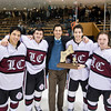 Loomis defeated St. Paul's 3-2 in the finals of the Martin/Earl Tournament on March 2, 2014, at the Ingalls Rink in New Haven, Connecticut.
