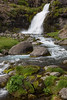 One of the seven waterfalls that make up Dynjandi. Taken in the Westfjords, Iceland.