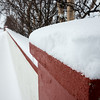 Snow Covered Wall