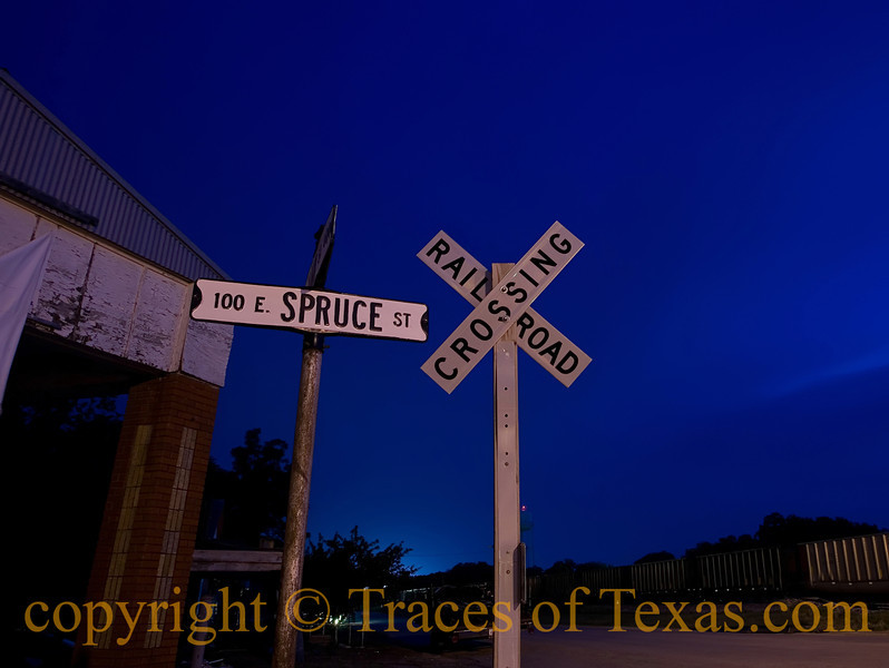 Title: Baby Left Town on the 2:19  Comments: A few months after I took this photo in West, Texas, a huge explosion leveled a big portion of the town, killing 15 people and injuring more than 150.   Location:  West