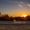 "Title: Being in Blanco.  Either that or ""Blancalicious.""  Comments: Sunset over the Blanco River in ... Blanco.  Location: Uh ... Blanco"