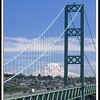 Tacoma Narrows Bridge & Mt. Rainier