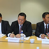 Political Officer Fahmi at the Indonesian Embassy in Wellington, Sr. Superintendent Napoleon Bonaparte, and Sr. Superintendent Djoko Prastowo attending the bilateral working group meeting between Indonesian National Police and New Zealand National Police in Wellington, 2012.