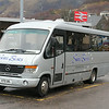 Shiel Buses Acharacle K70SBL Fort William Railway Station Jan 14