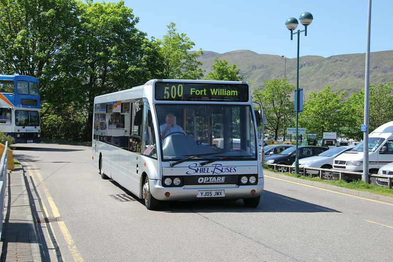 Shiel Buses Acharacle YJ05jWX An Aird Fort William May 12